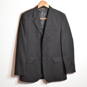 Men's Merona Black Sport Blazer Suit Jacket